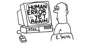 Les erreurs humaines sont inévitables dans une chaîne manuelle de production de logiciel