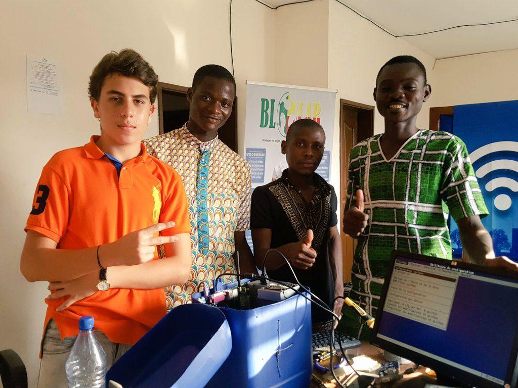 Réalisation d'un Jerry au Blolab au Bénin