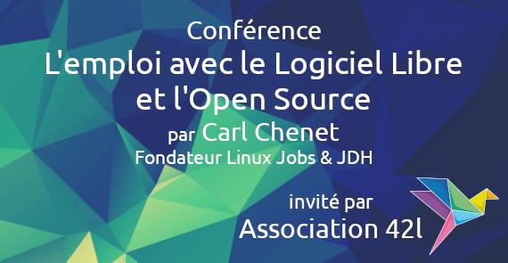 Conférence emploi avec le Logiciel Libre et l'Open Source